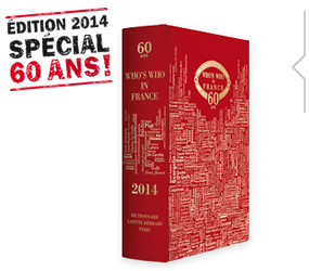 Acheter livre Who's Who édition 2014 collector