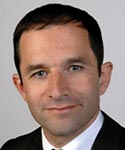 Photo Benoît Hamon du revenu universel au suffrage universel