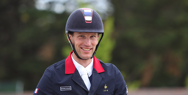 Photo Kevin Staut en selle pour les Longines Masters de Paris