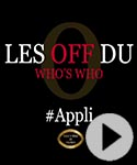 Photo Les coulisses du Who's Who #appli